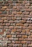 Vieille verticale d'abrégé sur briques image libre de droits