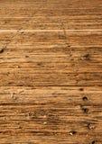 Vieille verticale en bois de promenade Image stock