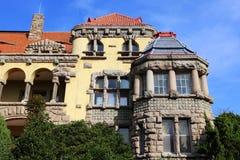 Vieille villa en pierre Photographie stock