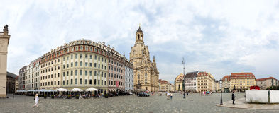 Vieille ville à Dresde Image libre de droits