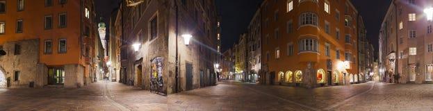 Vieille ville à Innsbruck Autriche Images libres de droits