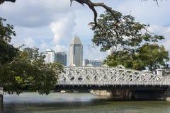 Vieille ville à Singapour Image libre de droits