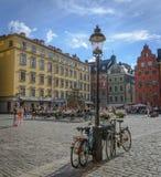 Vieille ville à Stockholm Photos stock