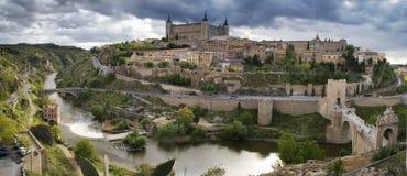Vieille ville à Toledo Photographie stock libre de droits