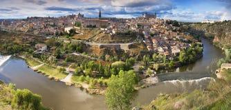 Vieille ville à Toledo Image libre de droits