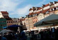 Vieille ville à Varsovie Image stock