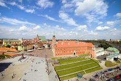Vieille ville à Varsovie Photos libres de droits