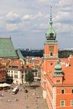 Vieille ville à Varsovie Photo libre de droits
