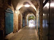 Vieille ville Akko, Israël Photographie stock