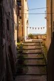 Vieille ville au Latium, Italie Image libre de droits