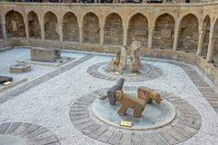Vieille ville, Bakou, Azerbaïdjan Photos libres de droits