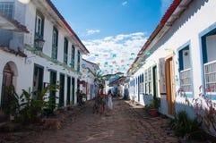 Vieille ville coloniale de Paraty, Rio de Janeiro, Brésil Photos stock