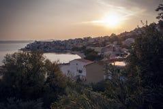 Vieille ville croate Photographie stock