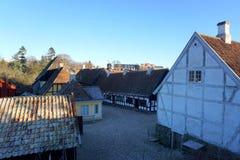 Vieille ville d'Aarhus Photos stock