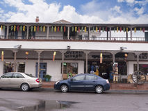 Vieille ville d'Albuqueque avec ses nombreuses galeries au Nouveau Mexique Etats-Unis Image libre de droits