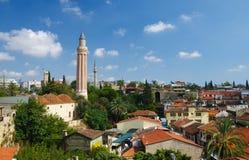 Vieille ville d'Antalya Image libre de droits