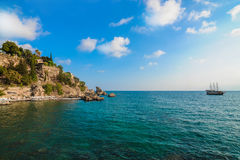 Vieille ville d'Antalya Photographie stock
