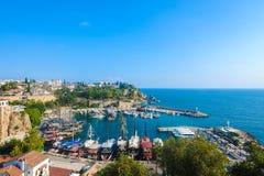 Vieille ville d'Antalya Photo libre de droits