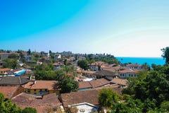 Vieille ville d'Antalya Images libres de droits