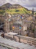 vieille ville d'Edimbourg Photo libre de droits