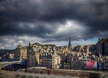 vieille ville d'Edimbourg Photographie stock libre de droits