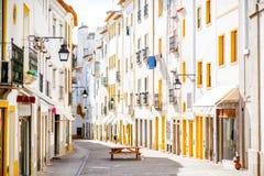 Vieille ville d'Evora au Portugal photographie stock libre de droits