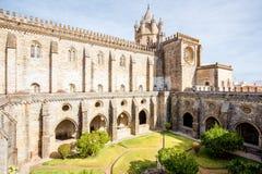 Vieille ville d'Evora au Portugal photo libre de droits