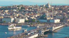 Vieille ville d'Istanbul banque de vidéos