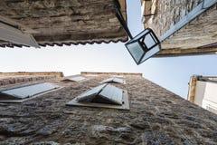 Vieille ville dans Budva Image stock