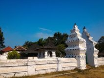 Vieille ville dans Cirebon Indonésie Image libre de droits