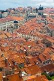 Vieille ville dans Dubrovnik, Croatie Images stock
