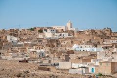 Vieille ville dans le désert Photo stock