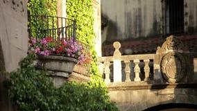 Vieille ville de Barcelone banque de vidéos