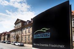 Vieille ville de Bayreuth Images stock