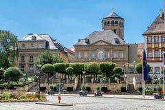 Vieille ville de Bayreuth Photographie stock