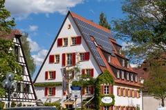 Vieille ville de Bayreuth photovoltaïque Images libres de droits