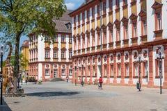 Vieille ville de Bayreuth - vieux château Photos stock