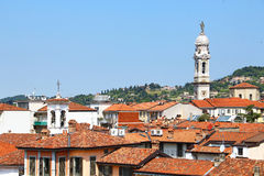 Vieille ville de Bergame, Italie photos stock