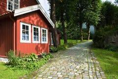 Vieille ville de Bergen Photo libre de droits