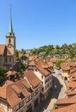 Vieille ville de Berne Photographie stock libre de droits