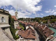 Vieille ville de Berne Photo libre de droits