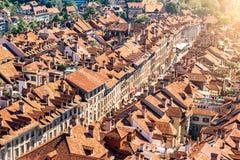 Vieille ville de Berne en Suisse Photos stock