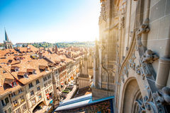 Vieille ville de Berne en Suisse Photos libres de droits