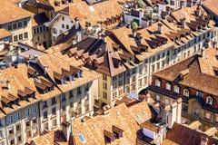 Vieille ville de Berne en Suisse Image libre de droits