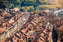 Vieille ville de Berne en Suisse Images stock