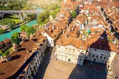 Vieille ville de Berne en Suisse Image stock