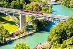 Vieille ville de Berne en Suisse Photographie stock libre de droits