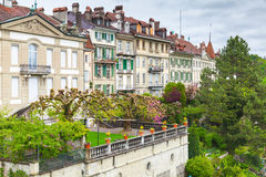 Vieille ville de Berne, Suisse Paysage Image stock