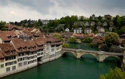 Vieille ville de Berne visitant le pays Photo libre de droits