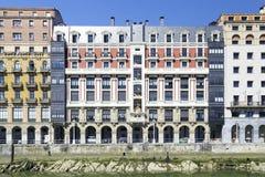 Vieille ville de Bilbao, pays Basque Espagne Image stock